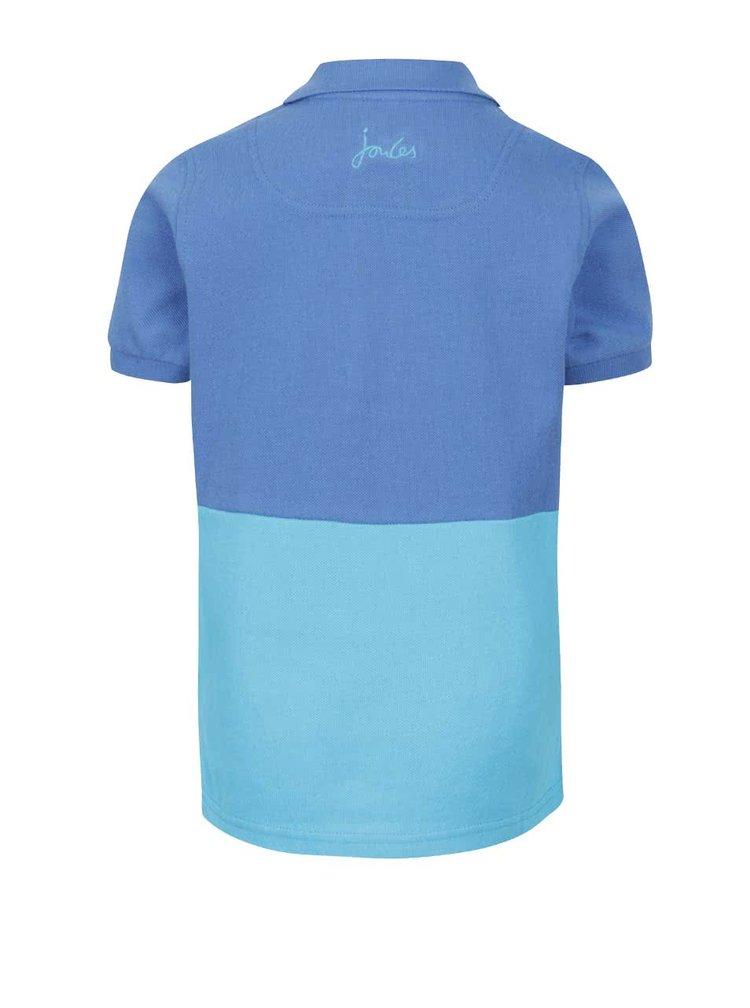 Tricou de băieți albastru Tom Joule cu print