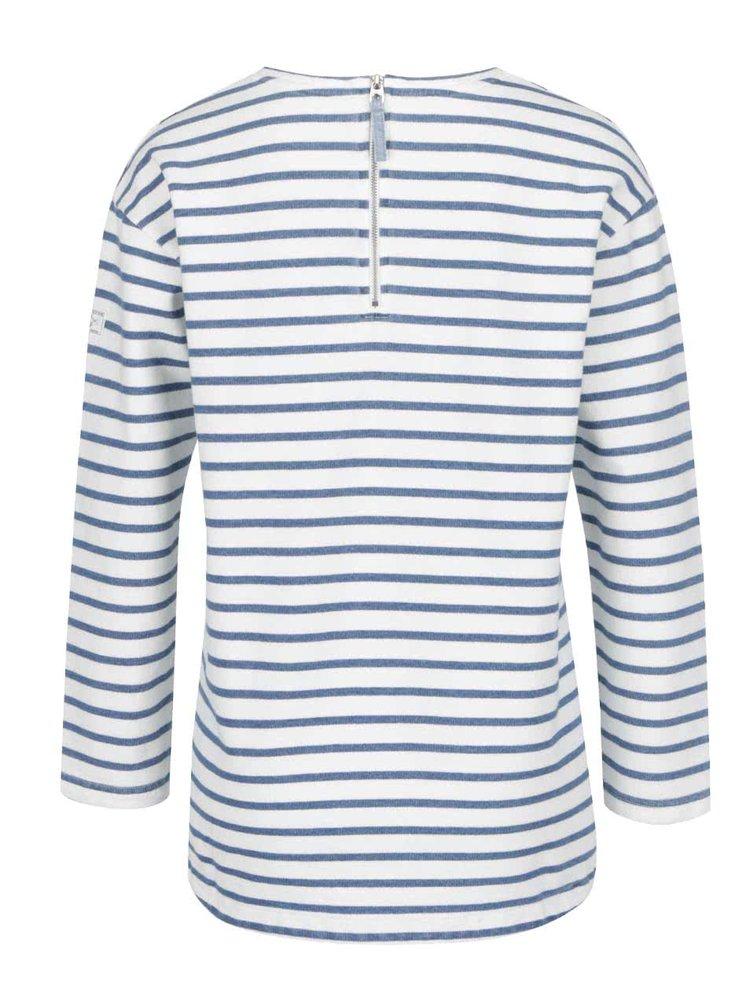 Bluza crem cu albastru Tom Joule Clemence Salt