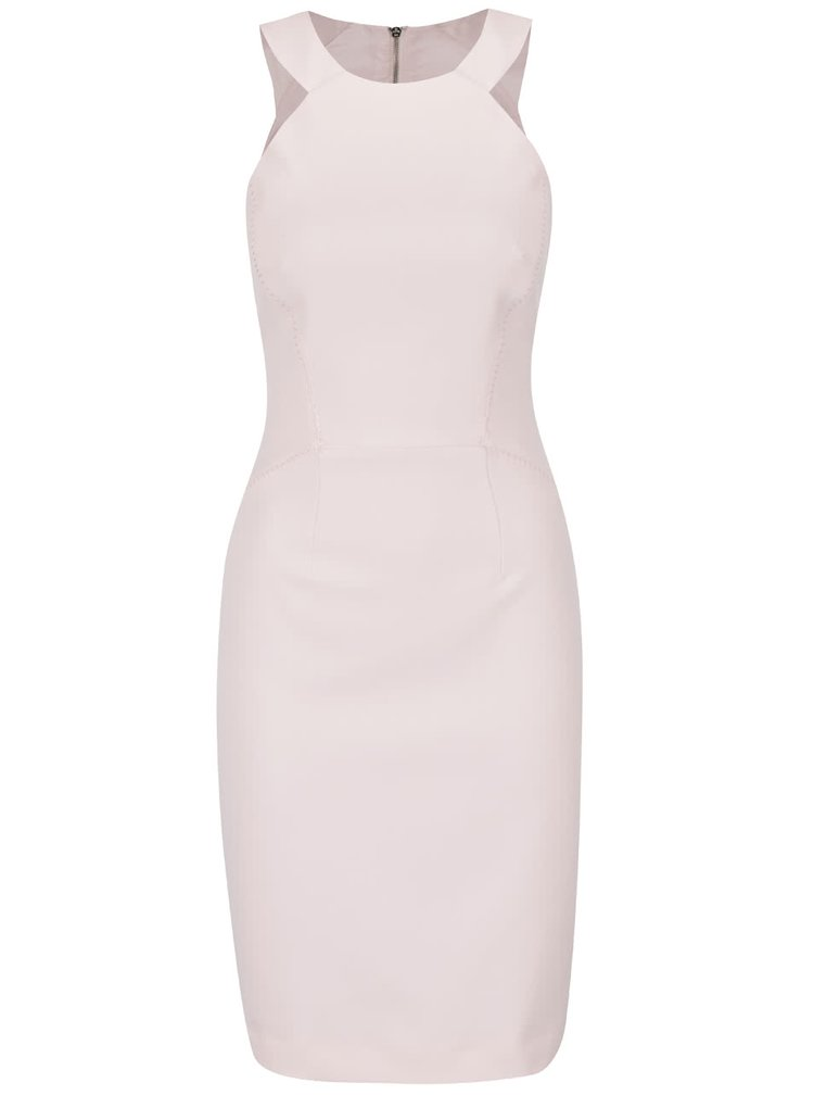 Rochie roz pal bodycon Frenc Connection Modern