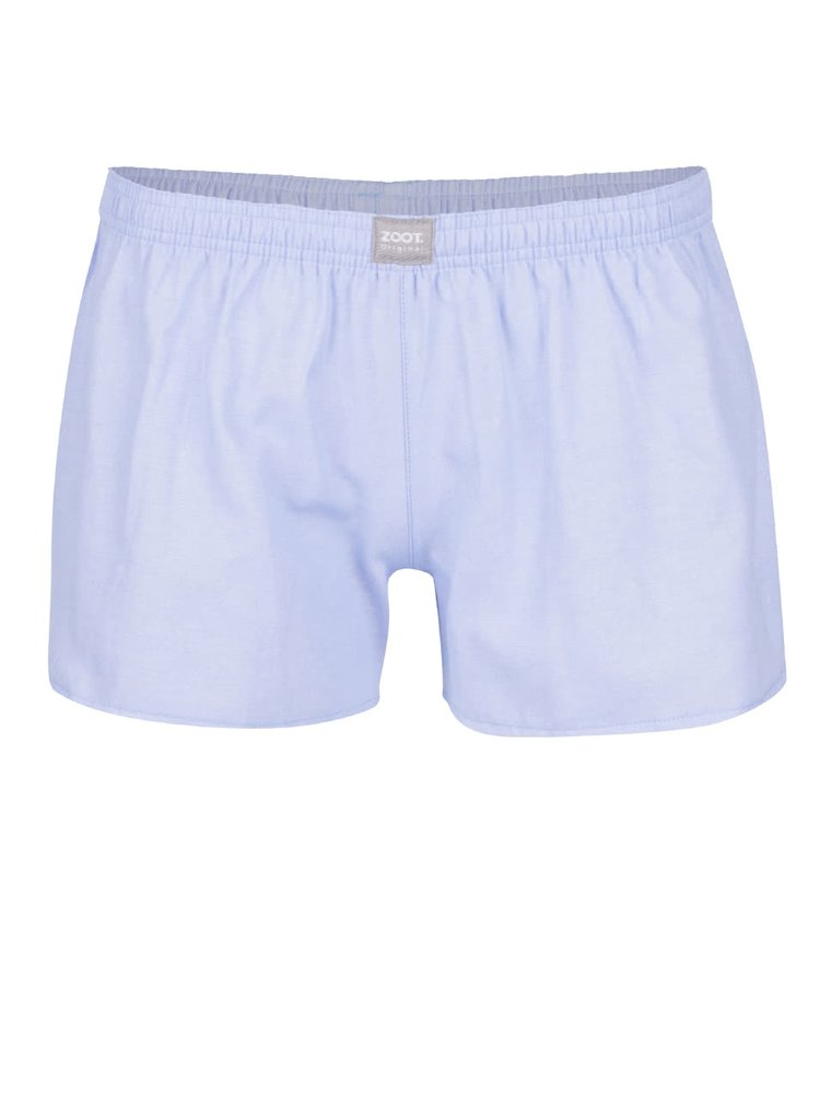 Boxeri albastri ZOOT Original din bumbac cu talie elastica pentru femei