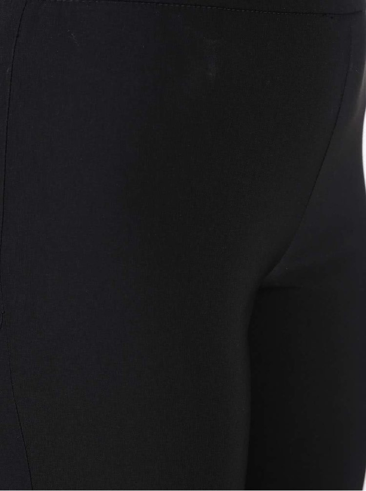 Černé elastické jeggings Miss Selfridge Petites