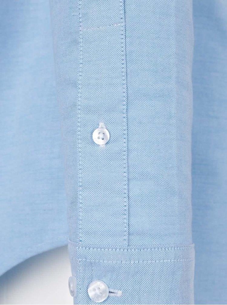 Světle modrá slim fit košile Original Penguin Oxford