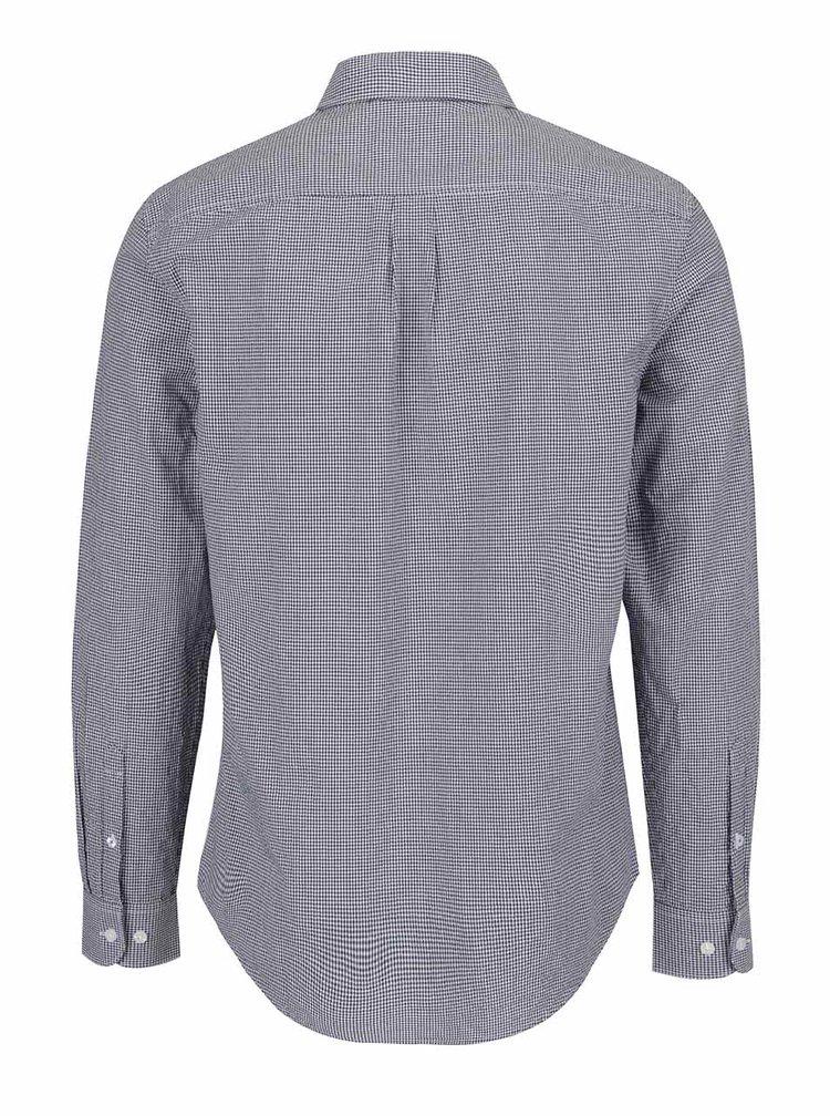 Tmavě modrá kostkovaná slim fit košile Original Penguin Gingham