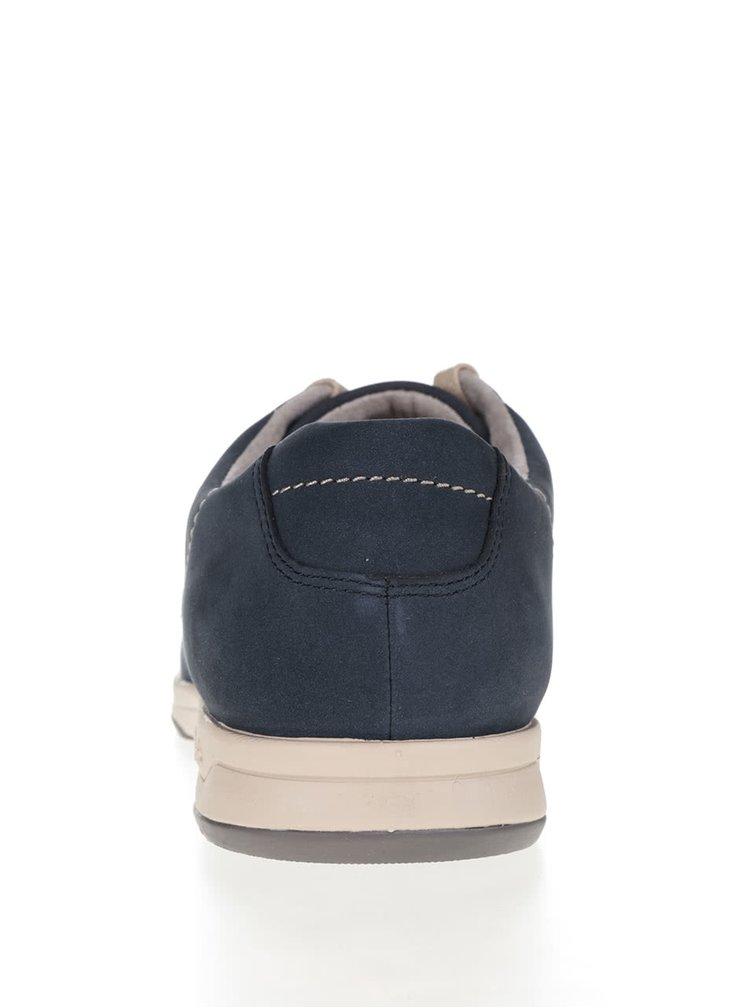 Pantofi sport albaștri Clarks Stafford Plan