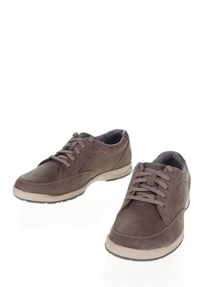 Pantofi sport gri Clarks Stafford Park 5