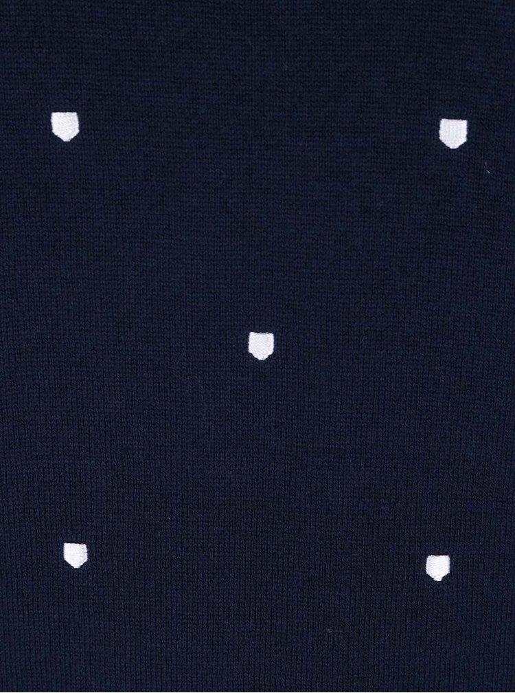 Tmavě modrý dámský svetr GANT Shield