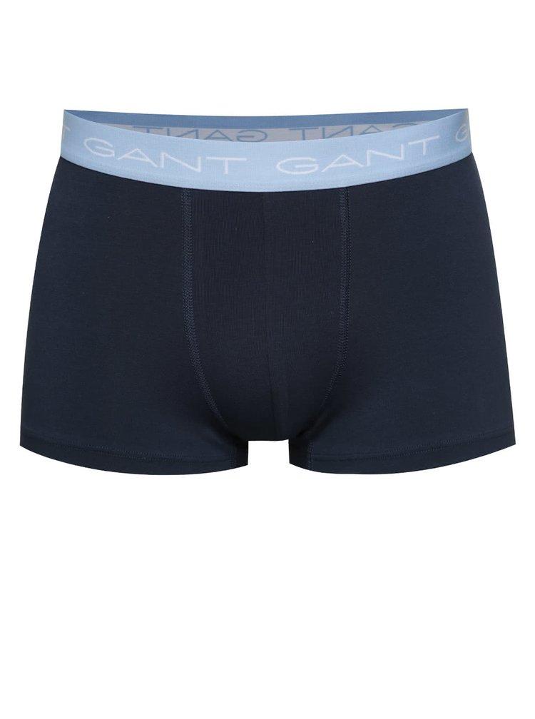 Sada boxerek v tmavě modré barvě GANT