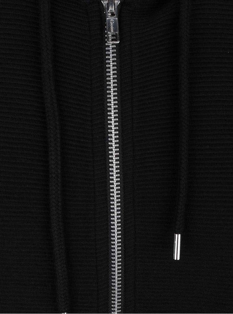 Černá mikina s kapsou Burton Menswear London