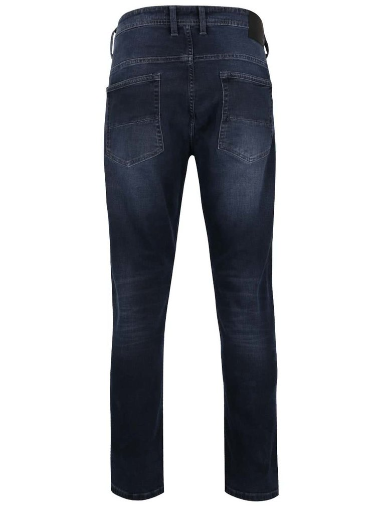 Blugi albastru & gri Burton Menswear London