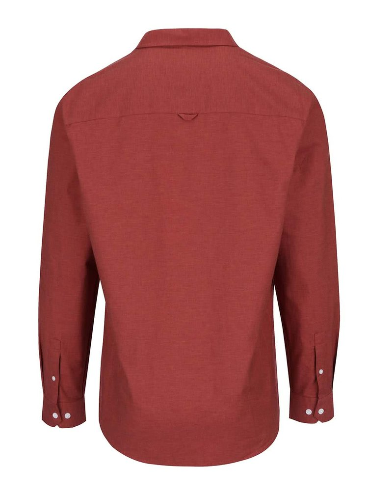 Červená košile Burton Menswear London
