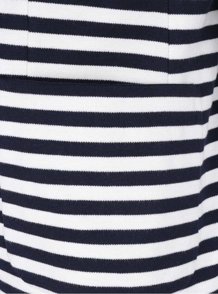 Krémovo-modrý dámský blejzr GANT Jersey