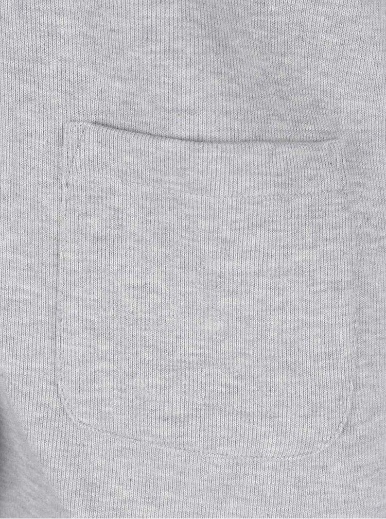 Světle šedý dámský blejzr GANT Jersey