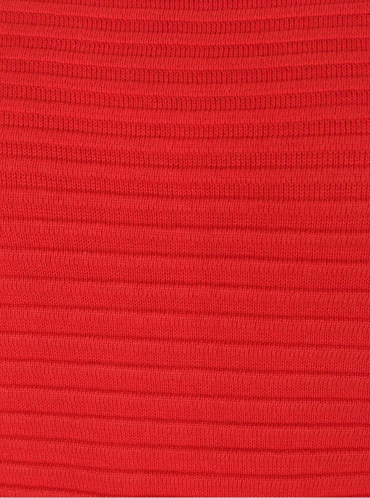 Pulover roșu VILA Sesse