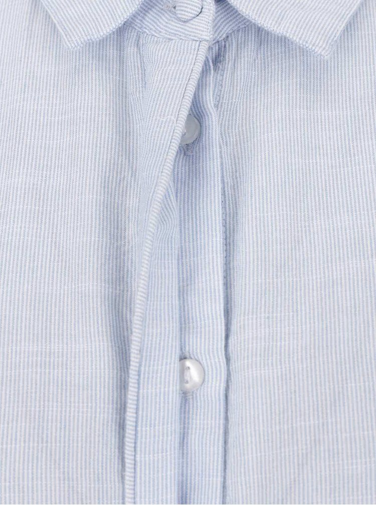 Rochie tip cămașă VILA Silan albastru deschis