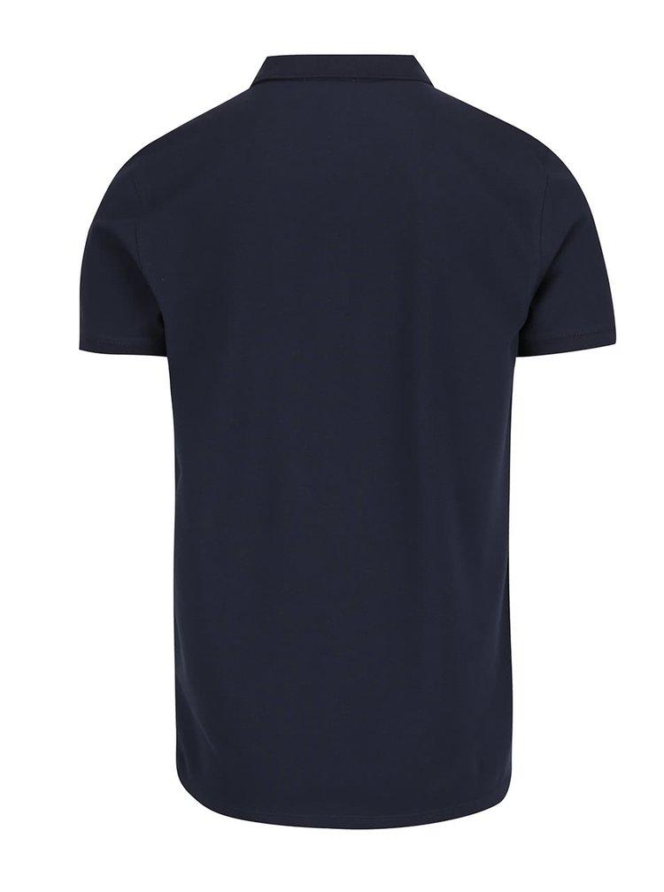 Tmavě modré polo tričko Selected Homme Damon
