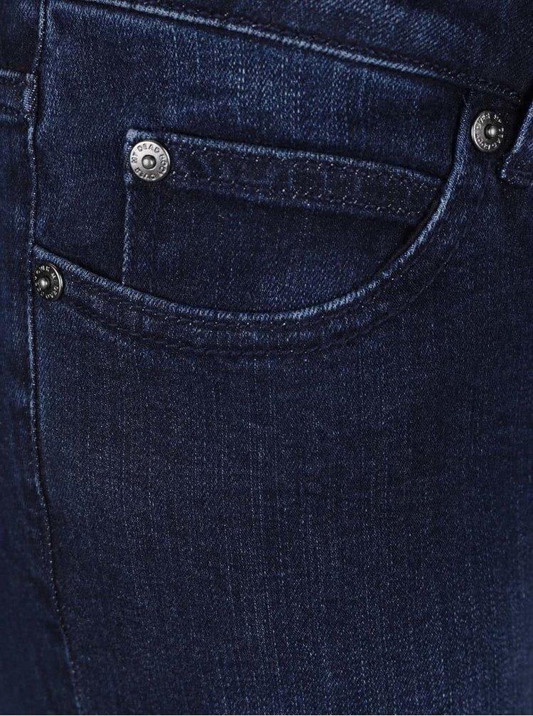 Tmavě modré slim džíny Cheap Monday
