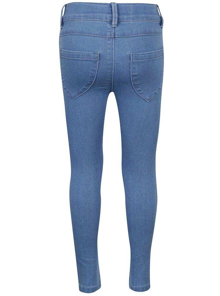 Modré holčičí skinny džíny name it Tera