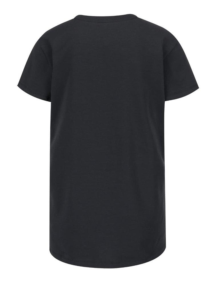 Tricou gri inchis Under Armour cu print
