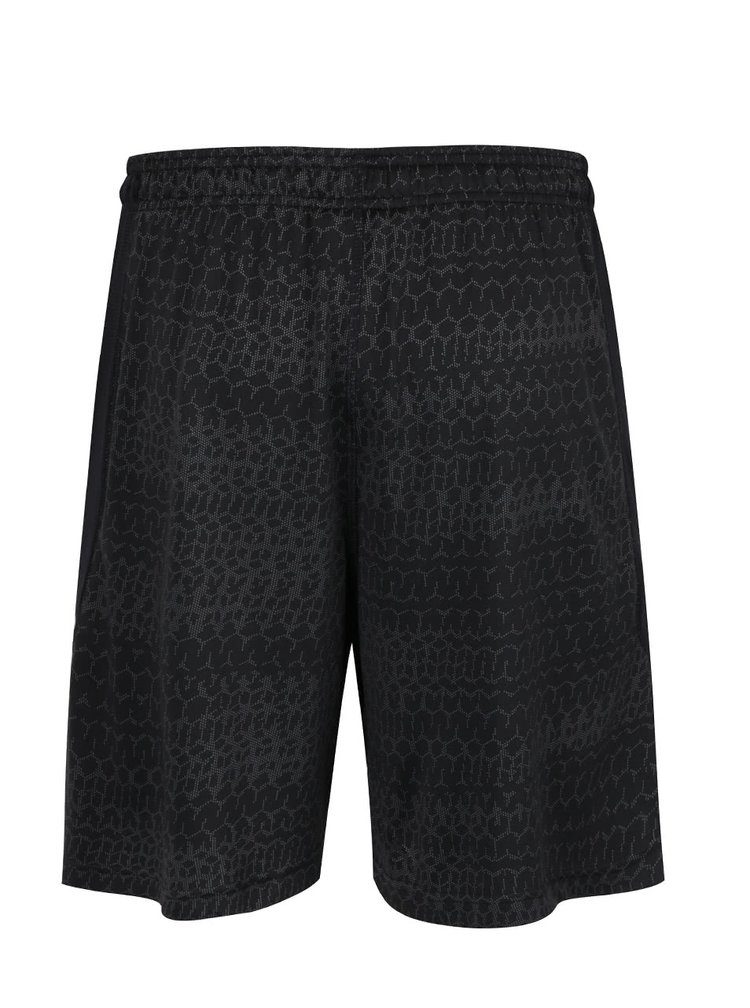 Pantaloni scurți gri închis Under Armour UA RAID JACQUARD cu model