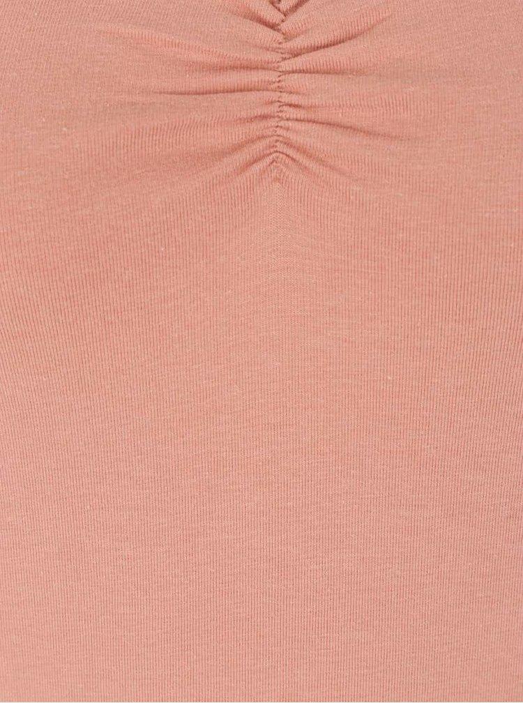 Korálové tričko TALLY WEiJL