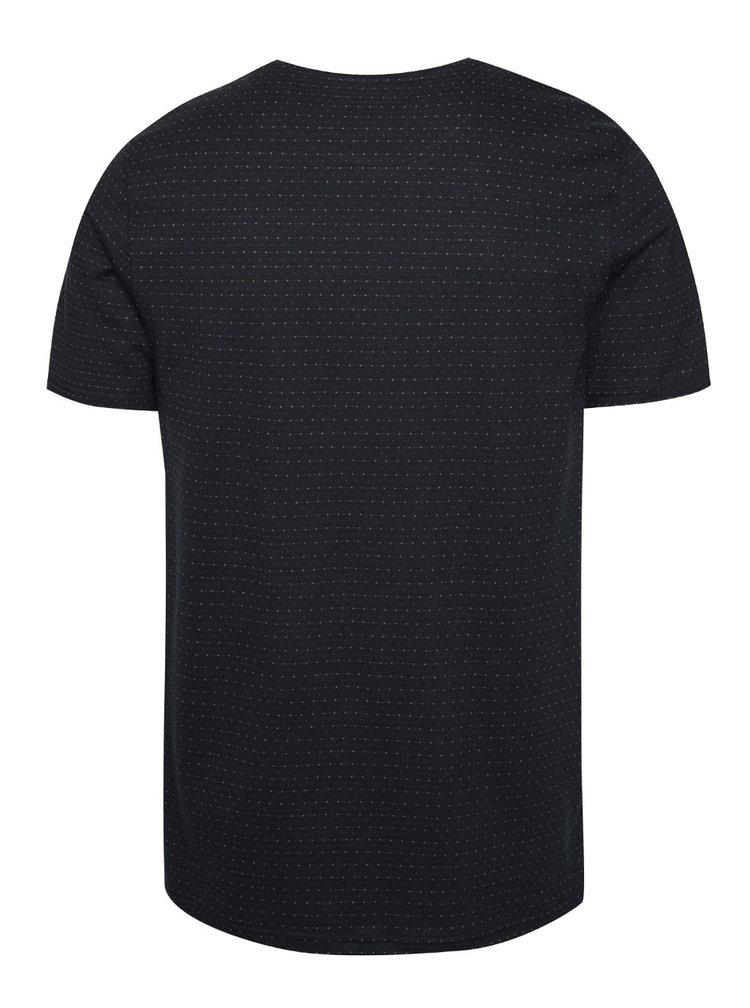 Tmavě modré triko Jack & Jones Conor