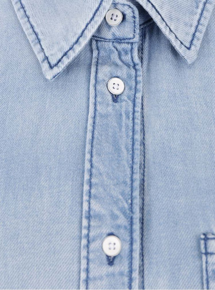 Camasa albastru deschis Noisy May Alix din denim