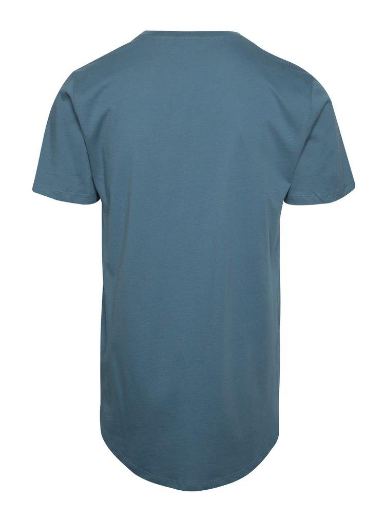 Modré basic tričko ONLY & SONS Matt