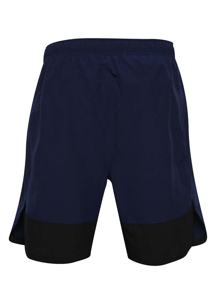 Pantaloni scurți bleumarin Nike cu buzunare