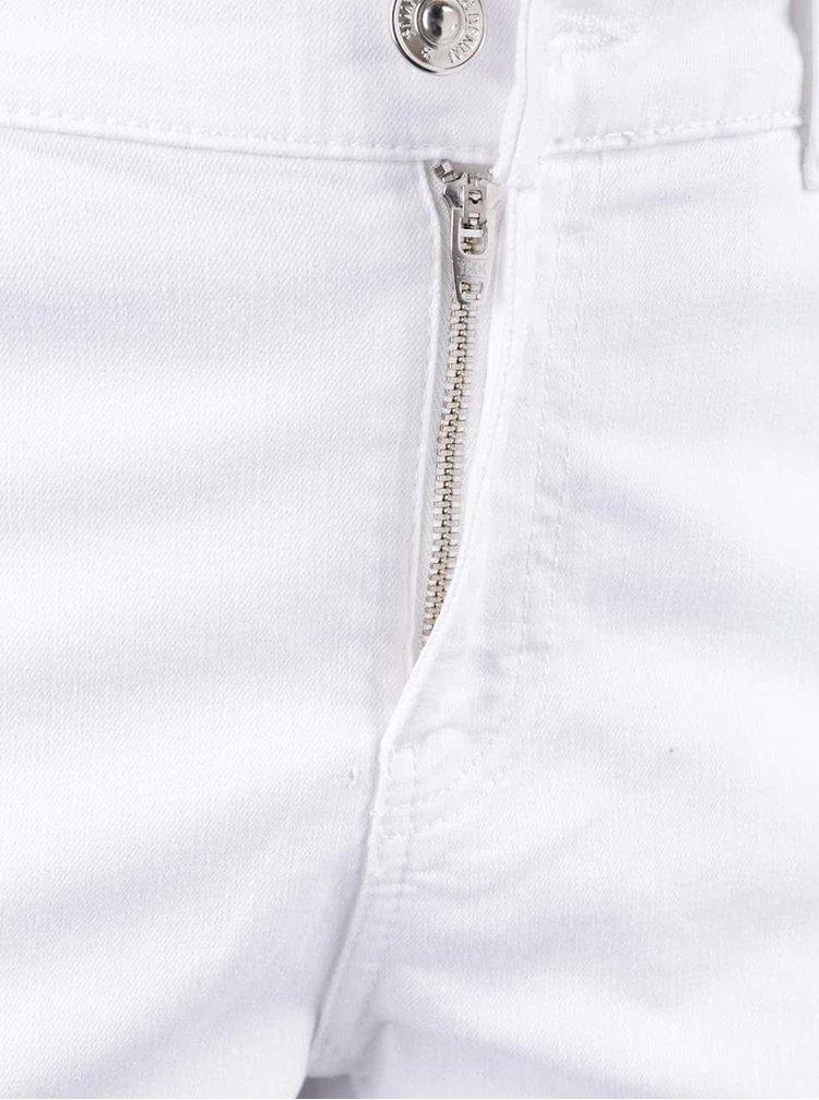 Bílé rovné džíny VERO MODA Fifteen