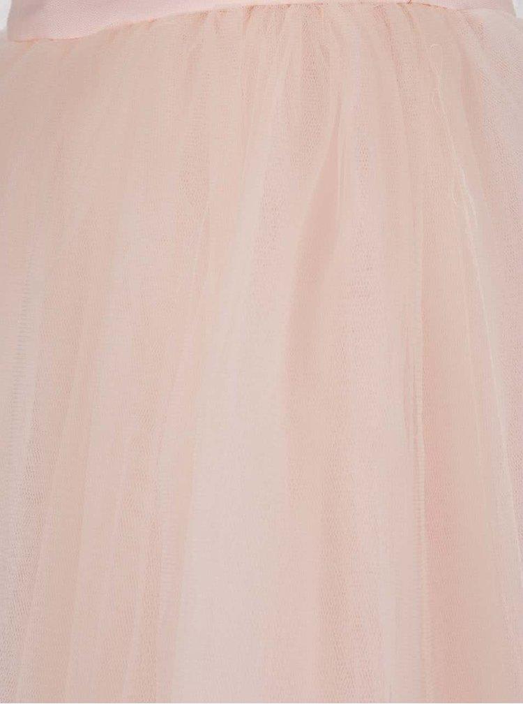 Fustă roz pal Chi Chi London din tulle