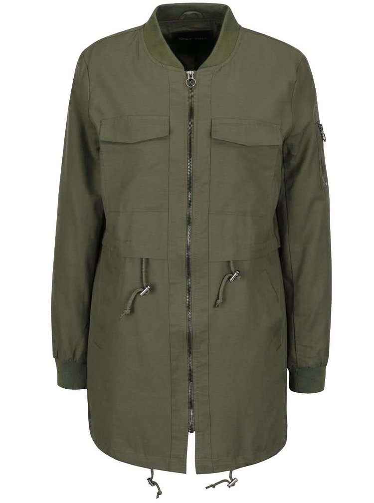 Khaki parka ONLY Turn