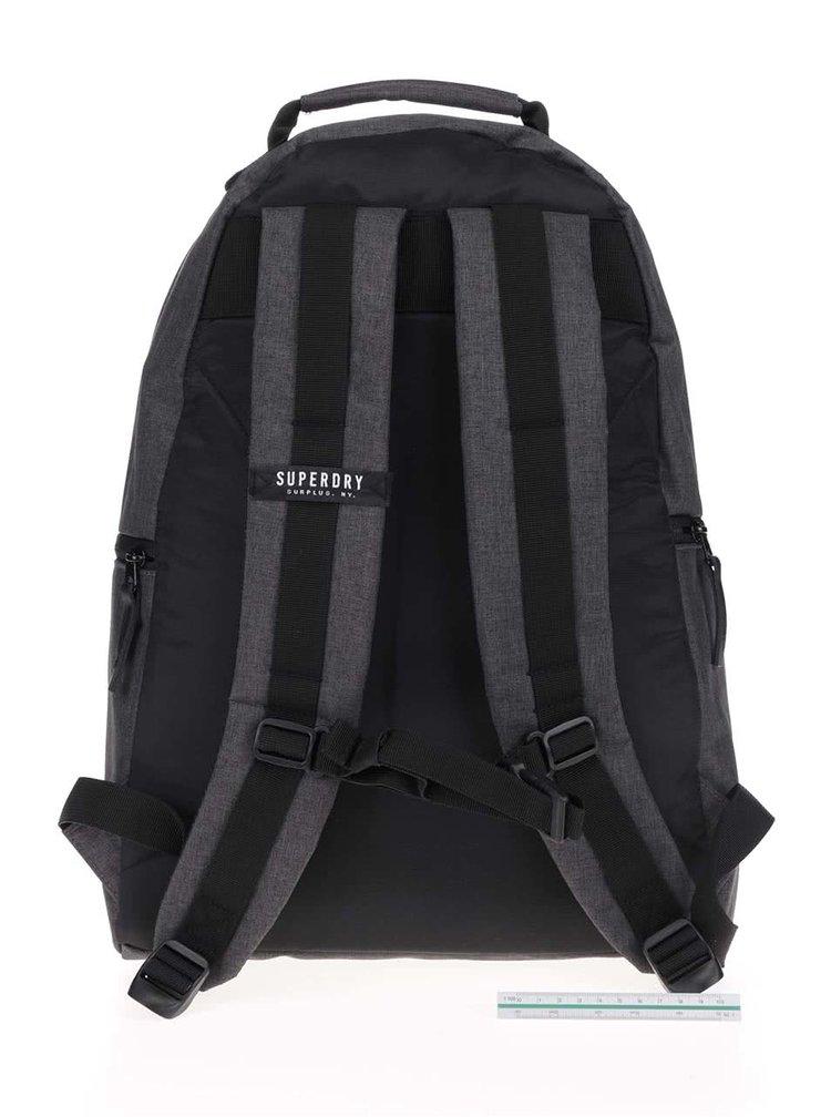 Tmavě šedý pánský batoh Superdry