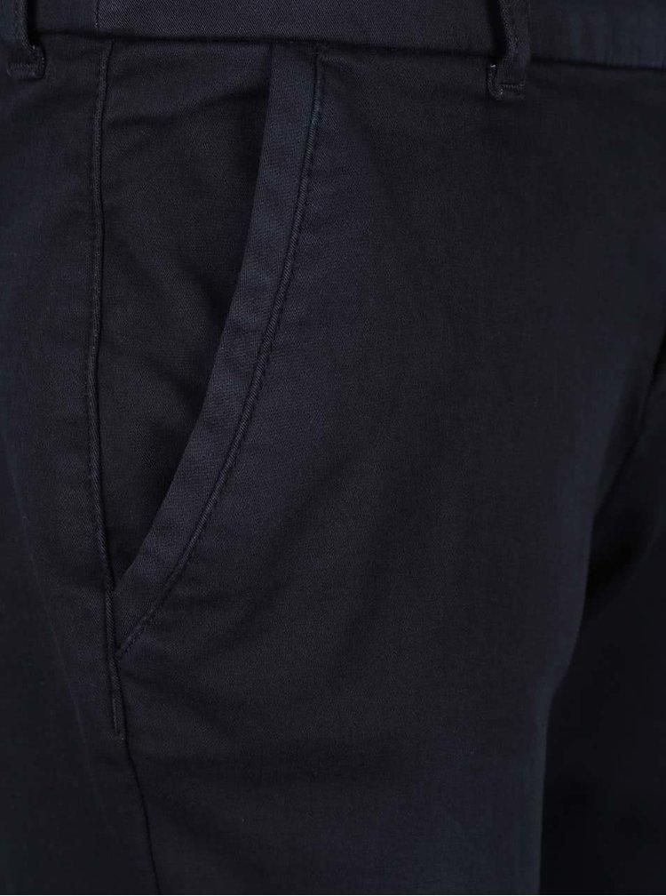 Pantaloni chino albastru inchis s.Oliver pentru femei