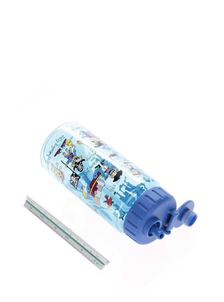 Modrá klučičí lahev na pití Tyrrell Katz Pirates