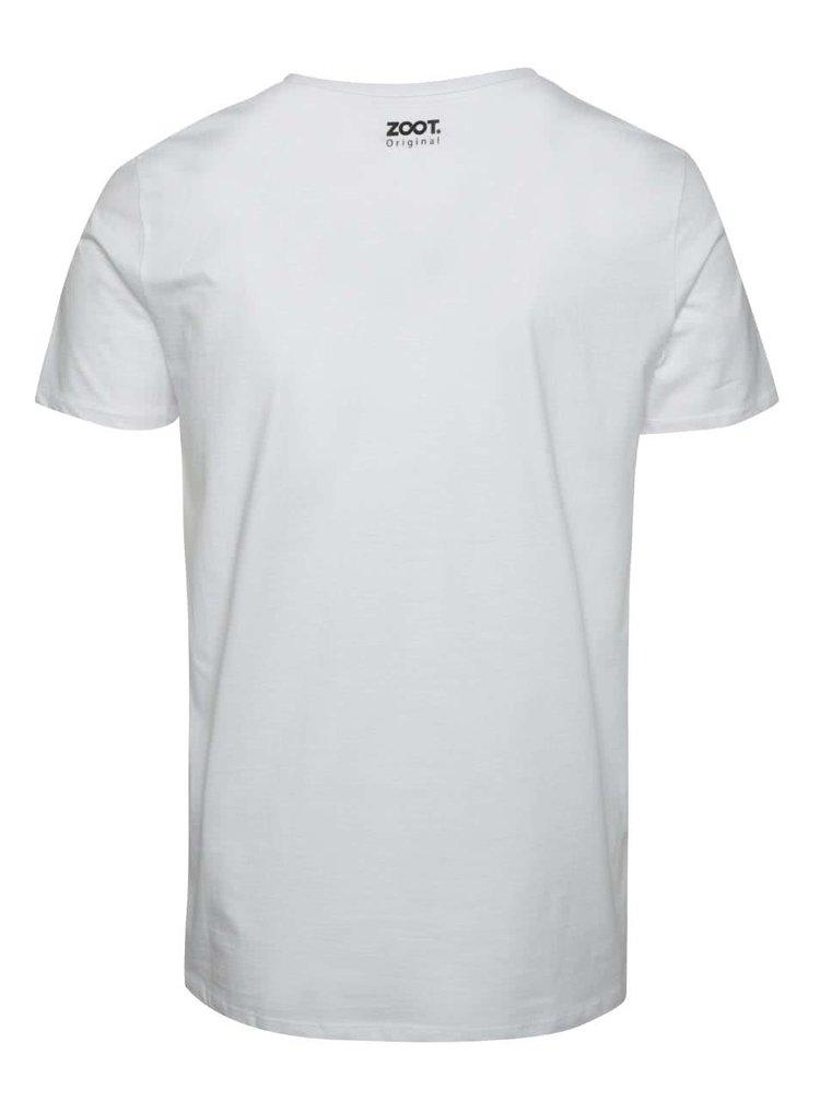 Bílé pánské triko ZOOT Originál Všude dobře doma nejlíp