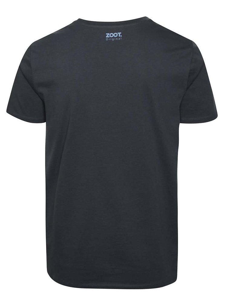 Šedé pánské tričko ZOOT Originál Svět patří těm, co se neposerou