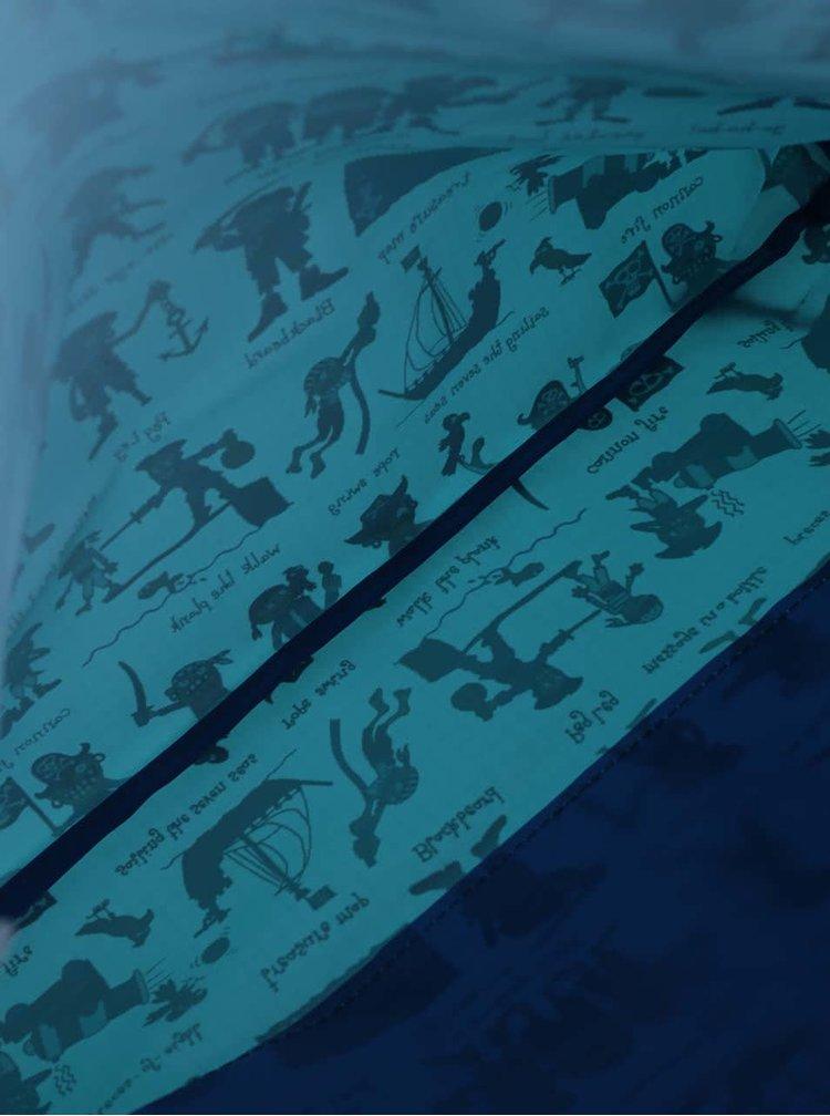 Rucsac albastru decshis Tyrrell Katz Pirates cu imprimeu