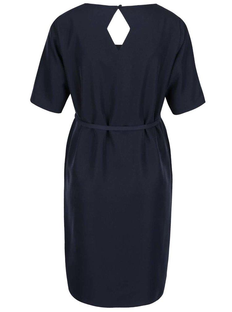 Tmavě modré těhotenské šaty Mama.licious Astia