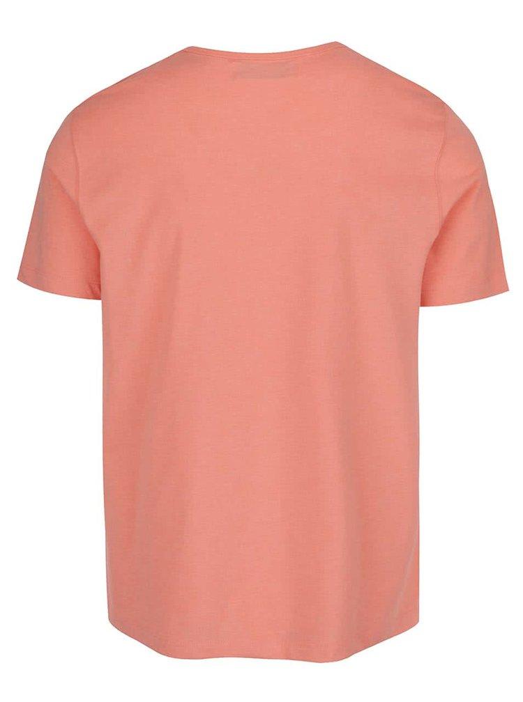 Meruňkové triko s krátkým rukávem Original Penguin Peached Jersey