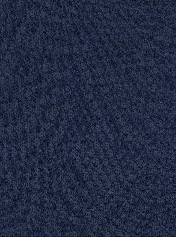Tmavě modrý svetr s kulatým výstřihem ONLY & SONS Fly