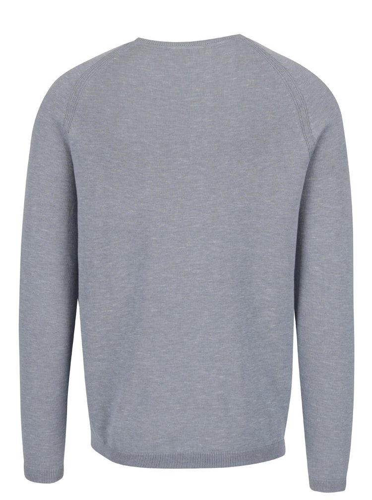 Šedomodrý svetr Selected Homme Tristan