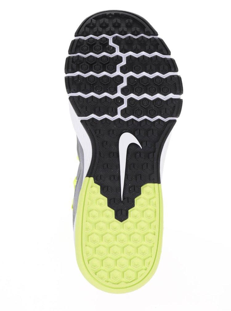 Zeleno-šedé pánské tenisky Nike Zoom train complete