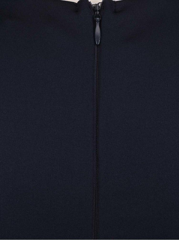 Tmavě modré pouzdrové šaty Ax Paris