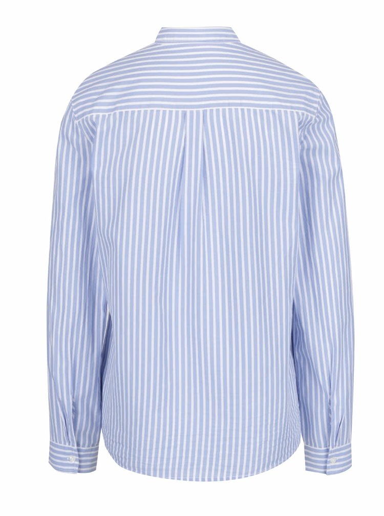 Světle modrá dámská pruhovaná košile s.Oliver