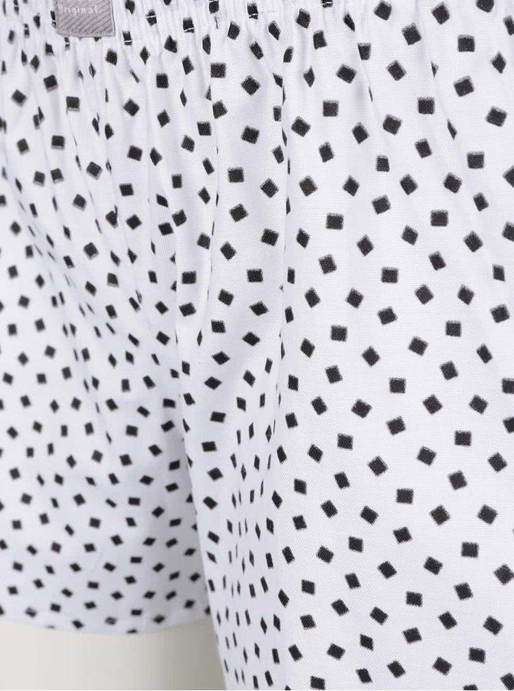 Bílo-černé dámské pyžamo ZOOT Originál Čáu a mňáu