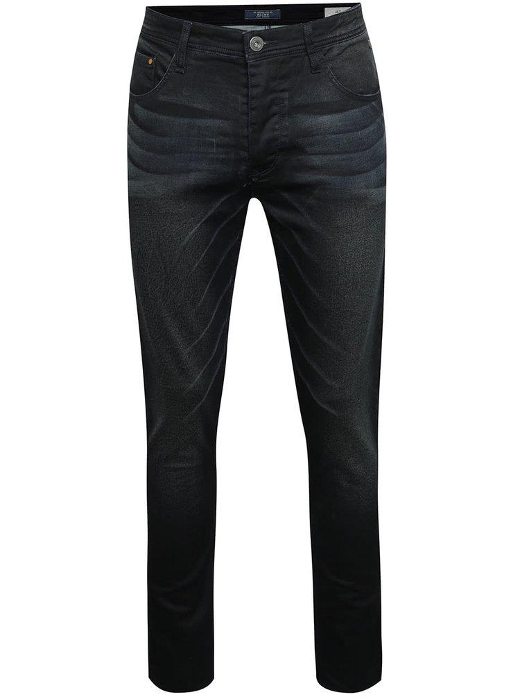 Černomodré džíny s opraným efektem Blend