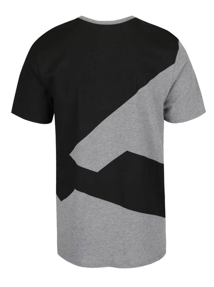 Černo-šedé pánské triko Nike