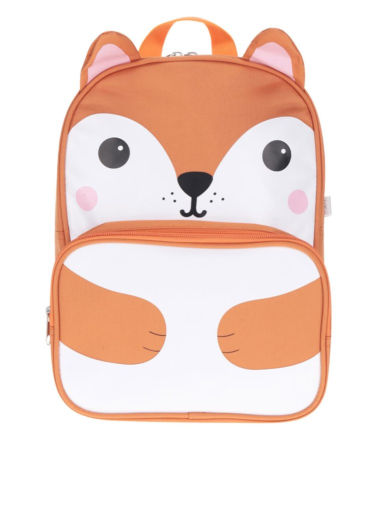 Oranžový batůžek s motivem lišky Sass & Belle Hiro Fox