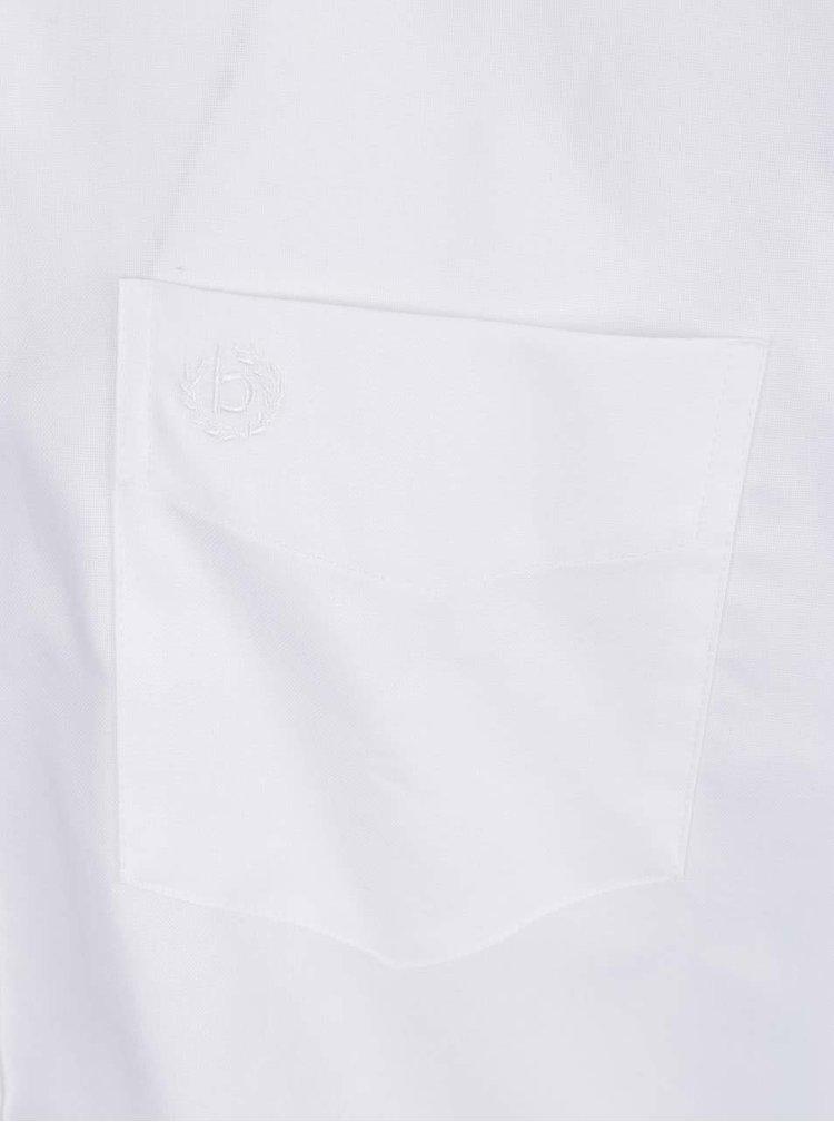 Bílá pánská košile bugatti
