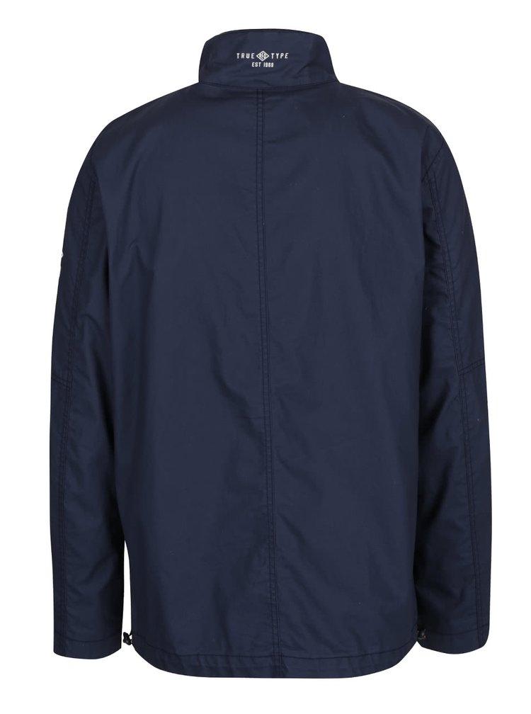 Tmavě modrá pánská bunda  s.Oliver